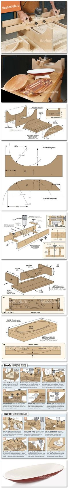 router jig plans for bowl making