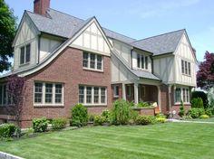 best ideas about Tudor house Tudor Exterior Paint, Tudor House Exterior, Exterior House Colors, Exterior Design, House Exteriors, Tudor Style Homes, Tudor Homes, Home Exterior Makeover, Architecture Design