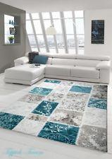 Alfombra Moderna Turquesa Crema Beis (alfombra de ensueño) in Casa, jardín y bricolaje, Alfombras y moquetas, Alfombras | eBay
