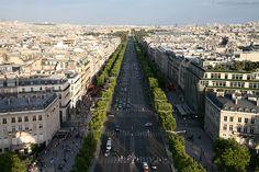 Let's take  a long walk to the Arc de Triomphe.... Champs-Elysees, Paris