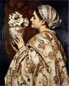 A Noble Lady of Venice by Frederic Lord Leighton