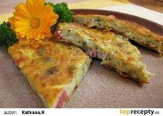 Cukeťák II recept - TopRecepty.cz No Salt Recipes, Vegan Recipes, Cooking Tips, Cooking Recipes, Diet Inspiration, Food 52, No Cook Meals, Food Pictures, Quiche