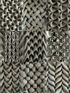 fabric manipulation -