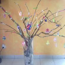 Comment fabriquer un arbre de Pâques ?