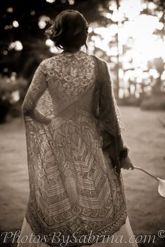 hand knit lace