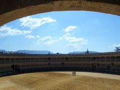 Plaza de Toros #Ronda #plazadetoros #spain #bluesky #travel #adventure #discovery #mountains #andalucia