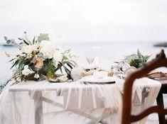 Beach Wedding Centerpiece | photography by http://www.lesamisphoto.com/