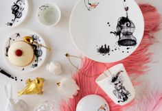 Parisian Inspired Dishes Designed by Lovisa Burfitt for Rorstrand