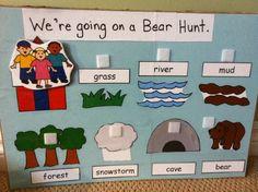 Bear Hunt flannelboard
