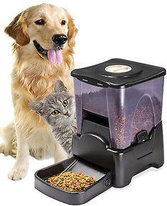 OxGord-Automatic-Pet-Feeder-Dog-Cat-Programmable-Animal-Food-Bowl-Auto-Dispenser