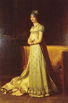 1806-1807 Stephanie Napoleon de Beauharnais by Baron François Pascal Simon Gérard (location unknown to gogm)