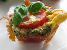365 dagen koken en eten: mini hapje met ei, ham en tomaat