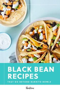 You're staring at the pantry, wondering what on earth we should make with that random can of black beans. Here are 40 black bean recipes to try. #black #bean #recipes Easy Vegetarian Dinner, Vegetarian Recipes Easy, Black Bean Recipes, Burrito Bowls, Burritos, Black Beans, Pantry, Yummy Food, Earth