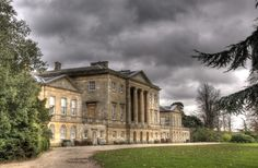 """Basildon Park - Country house situated south of Goring-on-Thames & Streatley in Berkshire. The house was built 1776-1783 for Sir Francis Sykes, designed by John Carr in the Palladian style at a time when Palladianism was giving way to the newly fashionable neoclassicism. Thus, the interiors are in a neoclassical """"Adamesque"""" style. Never fully completed, the house passed through a succession of owners. In 1910 it was standing empty,1914 was requisitioned by the British Govt as an army…"""