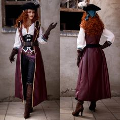 """""""May I present: My (almost) finished Avantika cosplay 🧡 I'm living a dream with this costume, guys! Cosplay Outfits, Cosplay Costumes, Pirate Costumes, Pirate Outfits, Adult Pirate Costume, Pirate Clothes, Pirate Cosplay, Halloween Outfits, Renaissance Festival Costumes"""
