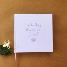 Our Wedding Anniversary Journal Timeless First Gift Paper Keepsake Weddinganniversarygifts