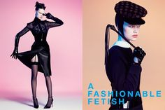 A FASHIONABLE FETISH 戯れのモダン・フェティッシュ。 PHOTOGRAPHED BY PAOLA KUDACKI STYLED BY AURORA SANSONE