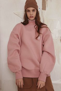 [unisex] Vertical ADER sweatshirtPinksold out