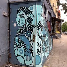 David Shillinglaw street art NYC NYC's Expressive Doors, Part IV: Ewok, Mor, David Shillinglaw, Jordan Betten, Stikki Peaches, Alice Mizrac...