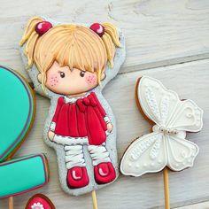 Trendy Baby Shower Cupcakes For Girls Babyshower Sugar Cookies Ideas Cookies For Kids, Fancy Cookies, Iced Cookies, Cupcake Cookies, Sugar Cookies, Baby Shower Cupcakes For Girls, Girl Cupcakes, Paint Cookies, Galletas Cookies