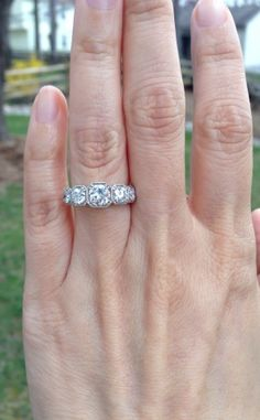 The 5 Stone Ring Thread! : Show Me the Bling! (Rings,Earrings,Jewelry) • Diamond Jewelry Forum - Compare Diamond Prices, Discussions & Diamond Information - Page 12