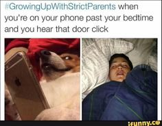 15 memes that show what it's like growing up with strict parents Stupid Funny Memes, Funny Relatable Memes, Funny Tweets, Funny Posts, The Funny, Funny Quotes, Hilarious, Funny Troll, Bff Quotes