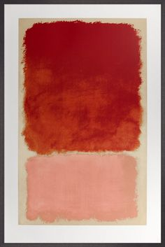 Untitled (Red over Pink), 1968 Silkscreen Print by Mark Rothko | King & McGaw