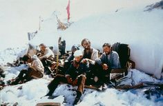 1972 : Andes: Survivors pose for a picture in the plane's tail. (Photo: Getty)