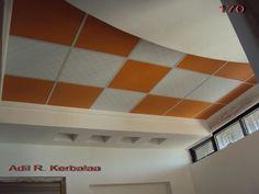 تصميم لسقف غرفة صغيرة