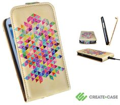 Samsung Galaxy S3 S4 flip case  Artist Designed by CreateandCase, £23.99