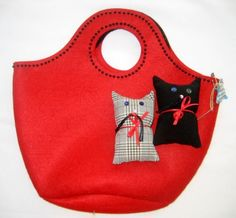 cat bag ....love this one ...must try similar soon !