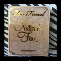 New Too Faced Natural Face Makeup Palette New Makeup Pallette Blush, bronzing veil, concealer, Luminizer and brightened See 2nd pic for description New Too Faced Natural Face Too Faced Other