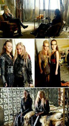 Eliza + Alycia bts