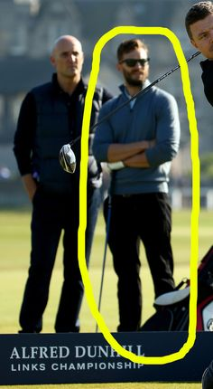 BECAUSE JAMIE DORNAN. | Jamie Dornan Golfing Will Be Your Desktop Background For The Rest Of Your Life