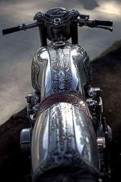 Baroque motorcycle