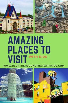 Find fun places to visit with kids in New Jersey, Maryland, Virginia, and Pennsylvania. There are plenty of kid-friendly destinations in the mid-Atlantic. Traveling with kids has never been so fun. Enjoy these amazing places to visit with kids. Family Fun Places, Fun Places To Go, Couple Travel, Family Travel, Vacations In The Us, Family Vacations, Family Trips, Midwest Vacations, Dream Vacations