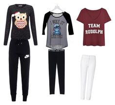 """""""Untitled #44"""" by brooklyen on Polyvore featuring Lipsy, dELiA*s, NIKE and ESCADA"""