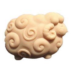 krullend schapen zeep mal fondant taart mallen zeep chocolade mal voor de keuken bakken taart hulpmiddel – EUR € 9.99