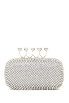 Finger Ring Crystal Clutch by Natasha Accessories on @nordstrom_rack