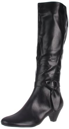 Aerosoles Women's Infamous Harness Boot, Black Polyurethane, 10.5 W US. $69.95. http://www.amazon.com/gp/product/B007WGC8O6