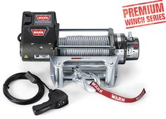 Rear Winch Warn Industries - Jeep, Truck & SUV Winches: M8000