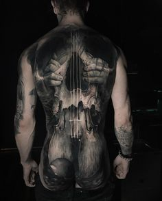 Jak Connolly #realistic #back #tattoo #art