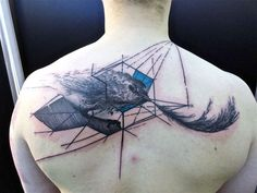 geometric and bird - ToKo Lören