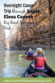 Looking for an amazing back country adventure? We loved our family canoe trip through Santa Elena Canyon in Big Bend National Park. West Texas, Travel With Kids, Family Travel, Canoe Trip, Us National Parks, Texas Travel, Get Outdoors, Family Adventure, Rafting
