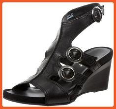 Gabor Women's 24840 Ankle Strap Sandal,Black Tucson,7 UK/9 M US - Sandals for women (*Amazon Partner-Link)