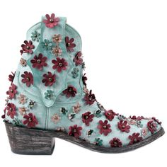 MEXICANA Boots  L840 HIP NAP  Leather - Turquoise