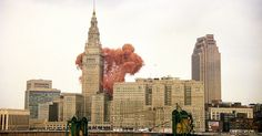 Cleveland broke the world record for simultaneous release of balloons. What happened next wasn't so great.