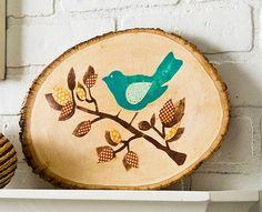 Decoupage - Outdoor Bird Art