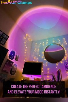 Aurora Lamp, Uni Room, Dorm Room, Colors And Emotions, Remote Viewing, Book Writing Tips, Home Office Setup, Cool Gadgets To Buy, Cool Inventions