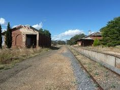 Carisbrook Station VIC 3464 - Google Maps Back In Time, Trains, Maps, Restoration, Country Roads, Places, Google, Blue Prints, Map